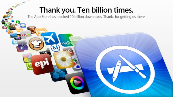 App Store Sales Top $10 Billion in 2013