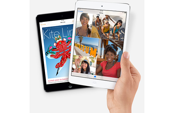 Apple shows off its iPad Air & iPad mini with Retina display